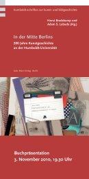 Flyer – pdf - Institut für Kunst- und Bildgeschichte