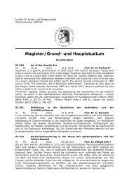 Magister (pdf) - Institut für Kunst- und Bildgeschichte