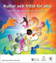 Kultur och fritid för alla - Haninge