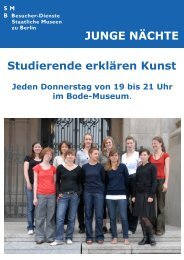 Junge Nächte – Studierende erklären Kunst – Flyer (pdf)
