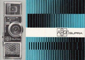 Bedienunganleitung für A8G1 Supra - Museum Digital