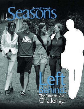 Seasons fall 04-jy - Samford University