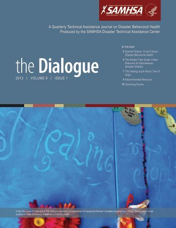 The Dialogue, Volume 9, Issue 1 - Get a Free Blog