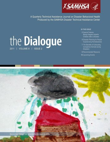 The Dialogue, Volume 8, Issue 2 - Substance Abuse and Mental ...
