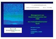 Management von Distorsionstraumen der HWS aus ... - bei der SAMM