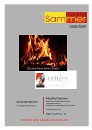 Feuerlöscher - Manfred Sammer