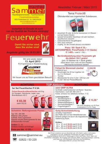 Feuerwehr - Manfred Sammer