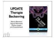 Up-Date: Therapie Beckenring - bei der SAMM