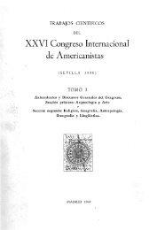 XXVI Congreso Internacional de Americanistas