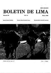 BOLETIN DE LIMA