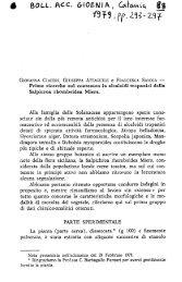 Prime ricerche sul contenuto in alcaloidi tropanici della Salpicroa ...