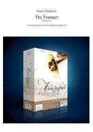 Trumpet Manual v. 2.01 - Sample Modeling