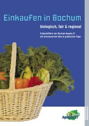 Einkaufsführer 15-5.indd - Bochum Agenda 21