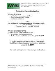 payform - SAMSI