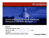 Dynamic Monitoring and Decision Systems: The Missing ... - SAMSI