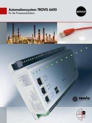 Automationssystem TROVIS 6600 - Samson
