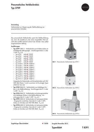 Typenblatt T 8391 Pneumatisches ... - Samson AG Mess