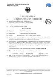 translation ec type examination certificate - Samson AG Mess
