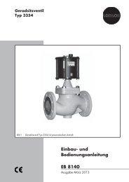 Einbau- und Bedienungsanleitung EB 8140 - Samson AG Mess