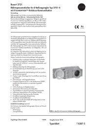 Typenblatt T 8387-5 Bauart 3731 ... - Samson AG Mess
