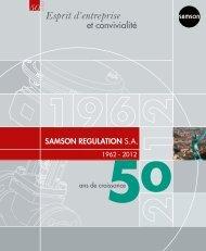 Esprit d'entreprise 50 ans - Samson