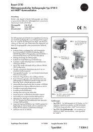Typenblatt T 8384-3 Bauart 3730 ... - Samson AG Mess