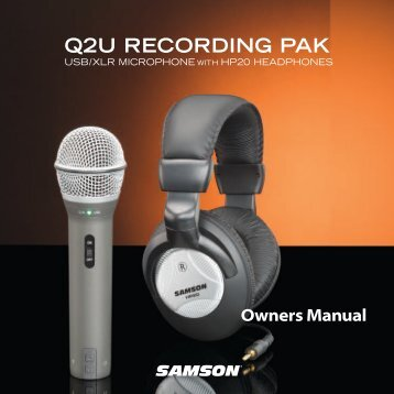 Download the Q2U English User Manual in PDF format - Samson