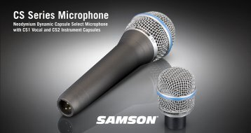 CS Series Microphone - Samson