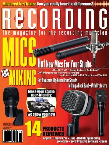 February 2013 Recording Magazine Zoom Q2HD Review - Samson
