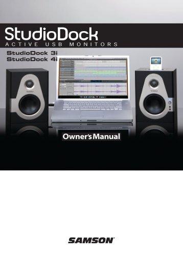 StudioDock 3i y 4i - Samson