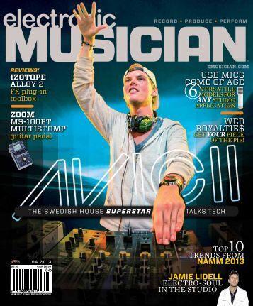 Electronic Musician - Samson