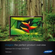 imagine the perfect product overview - Samsung