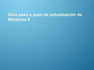 Guía de actualización a Windows 8 - Samsung