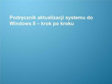 Podręcznik aktualizacji systemu do systemu Windows 8 - Samsung