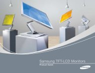 Samsung TFT-LCD Monitors