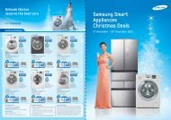 Samsung Smart Appliances Christmas Deals