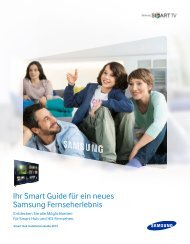 Smart Hub Installation Guide 2013 - Samsung