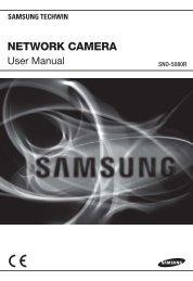 User Manual_SNO-5080R-ENGLISH_Web.indb - Samsung Techwin ...