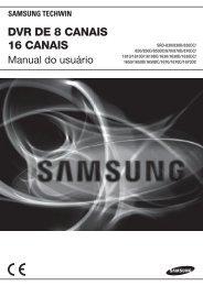User Manual_SRD-16XX, 8XX_PORTUGUESE.indb - Samsung ...