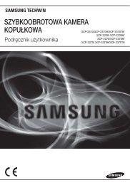 SZYBKOOBROTOWA KAMERA KOPUŁKOWA - Samsung Techwin UK