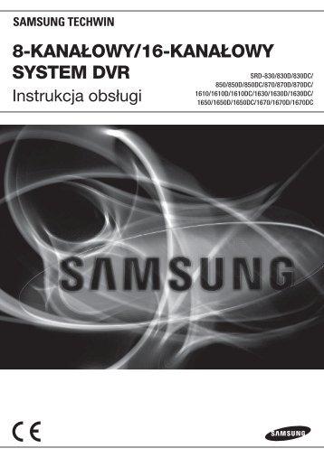 User Manual_SRD-16XX, 8XX_POLISH_Web.indb - Samsung ...