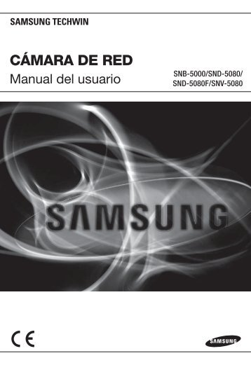 User Manual-SNB-5000-SPANISH_Web-.indb - Samsung Techwin UK
