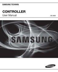 CONTROLLER - Samsung Techwin UK