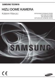 hızlı dome kamera - Samsung Techwin UK