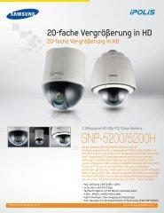 1101 SNP-5200_GER_2P.indd - Samsung Techwin UK