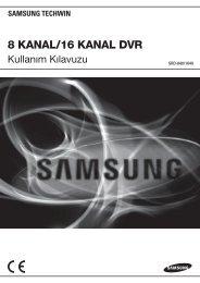 User Manual-SRD-1640,840-TURKISH_Web.indb - Samsung ...
