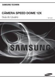CÂMERA SPEED DOME 12X - Samsung Techwin UK