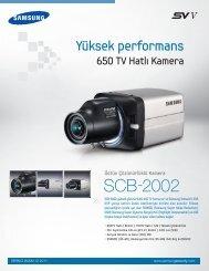 SCB-2002 - Samsung Techwin UK