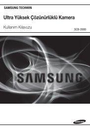 Ultra Yüksek Çözünürlüklü Kamera - Samsung Techwin UK