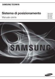 Sistema di posizionamento - Samsung Techwin UK